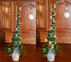 2017.1 Grinch, Plant Hanger, Plants, Home Decor, Home And Garden, Xmas Trees, Christmas, Timber Wood, Dekoration