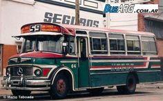 """busarg.com.ar - 002 - Líneas de Concesión Nacional 051/100/El último San Miguel """"viejito"""" de la línea 59"""