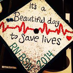 Future DOcter graduation cap.