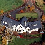 barn, arena and residence