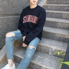 45 ideas for style fashion korean casual Grunge Fashion, Trendy Fashion, Mens Fashion, Style Fashion, Trendy Style, Fashion Styles, Affordable Fashion, Fashion Ideas, Korean Fashion Trends