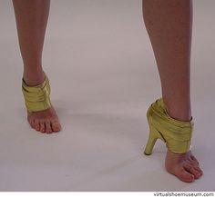 Golden Heel | virtualshoemuseum.com
