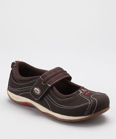 Take a look at this Dark Brown Sport Comfort LO Mary Jane -  By Ryka.