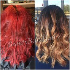 Summer Ready Balayage by @ Gabby Ceballos Instagram:BeautyBella08 Facebook:BeautyBellaHair