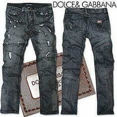 Vendre Jeans Dolce & Gabbana Homme H0084 Pas Cher En Ligne.