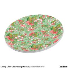NEW. #CandyCane #Christmas pattern #PaperPlate Available in different products. Check more at www.zazzle.com/celebrationideas