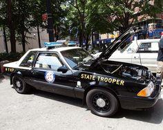 1989 Ford Mustang Florida Highway Patrol car foxbody notch
