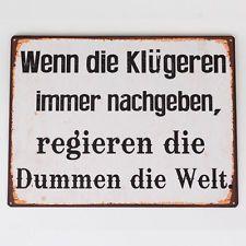 """details zu vintage tin sign """"save water drink champagne"""" metalsign, Garten seite"""