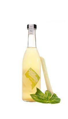 #kombucha #live #beverage #bottle #design #packaging #package #design #identity #logo #pd #basil #lemongrass