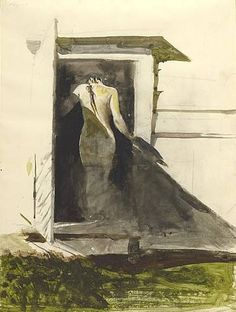 """In the Doorway"" Andrew Wyeth"