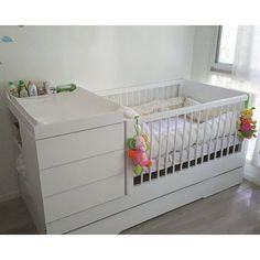 Cuna Funcional con Carro - Blanca - Comprar en booh Baby Crib Diy, Baby Cribs, Baby Boy Rooms, Baby Bedroom, Baby Furniture, Baby Decor, Bed Design, New Baby Products, Home Decor