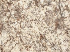 Our Bianco Romano Wilsonart® HD® High Definition® Laminate design features creamy whites with sienna accents enhanced by warm grey veining.