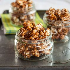 How to Make Crunchy Caramel Popcorn  Cooking Lessons from The Kitchn (edit: 1 cup unpopped kernals & 1.5x recipe caramel)