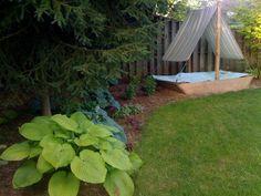 Valerie's Boat Sandbox & Garden