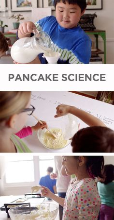 learning math and science with pancakes