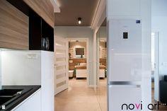 Kuchnia - zdjęcie od Pracownia projektowa Novi art - Kuchnia - Styl Nowoczesny - Pracownia projektowa Novi art Kitchen Cabinets, Kitchen Appliances, Bath, Closet, Homes, Home Decor, Design, Kitchens, Diy Kitchen Appliances