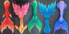 Real Life Mermaids, Unicorns And Mermaids, Mermaids And Mermen, Finfolk Mermaid Tails, Mermaid Fin, Tattoo Mermaid, Mermaid Tale, Merman Tails, Epic Halloween Costumes