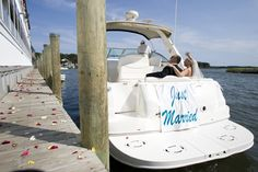 wedding exit with boat - Bing Images