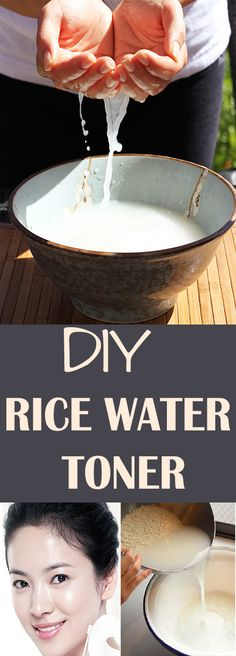 DIY RICE WATER TONER #health #beauty #getrid #howto #exercises #workout #skincare #skintag  #bellyfat #homeremdieds #herbal