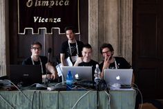 Team Social at work #backstage #TEDxVicenza #PlantingTheSeeds #TEDx #Vicenza