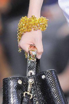 Bijoux, Bijoux: Spring 2014 Runway Jewelry. Golden Eye