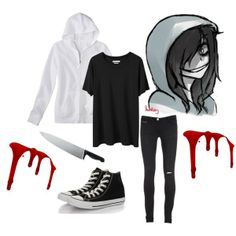 """Jeff the killer"" by stephihunt on Polyvore"