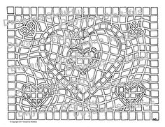 Mosaic Heart Coloring Page is a beautiful design by Artist Dwyanna Stoltzfus. This is a individual coloring page from the Hearts and Flowers 2 Coloring Book. You can enjoy this wonderful design or color it for someone you love. Your colored page can be given to a loved one for Valentines Day, Mothers Day, A birthday, or any day that you want to say I love you.  You will receive 1 PDF file containing the Mosaic Heart coloring page, a uncolored image with no watermarks. The file is instantly…