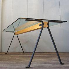 Industrial Design Furniture, Loft Furniture, Iron Furniture, Steel Furniture, Unique Furniture, Table Furniture, Furniture Design, Furniture Plans, System Furniture