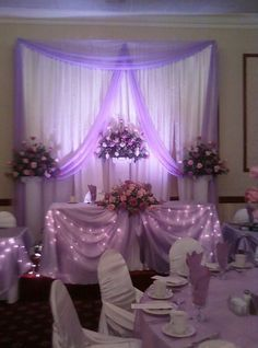 bridal sweetheart table decorations - Google Search