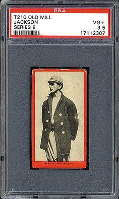 1910 Old Mill Tobacco Shoeless Joe Jackson minor league card