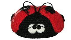 Tutorial: mariquita amigurumi tejida en crochet (amigurumi ladybug)