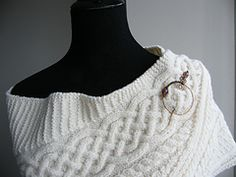 Ravelry: Margaree Harbour Shawl pattern by Luise O'Neill