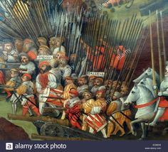 The Battle Of Pavia 1525 Stock Photo, Royalty Free Image: 76393445 - Alamy