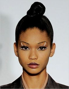 This cute style was seen at Marc Jacobs on model Chanel Iman. Description from pinterest.com. I searched for this on bing.com/images