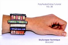 Polymer Clay Skyscraper Bracelet - Tutorial