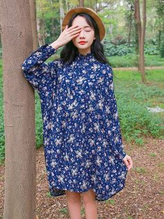 New Size Shivering Retro Long Sleeves Dress