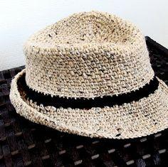 iKNITS: Crochet a Fedora Hat