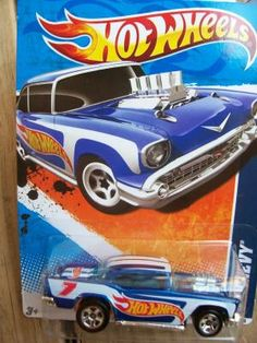 HOT WHEELS  HW RACING '11 '57 CHEVY   FREE SHIPPING!!