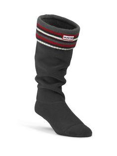 Striped Cuff Welly Socks | Hunter Boot Ltd