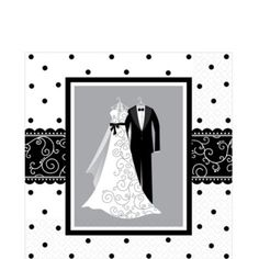 Black And White Wedding Party Supplies Feature Tableware With Matching Invitations Decorations Favors More