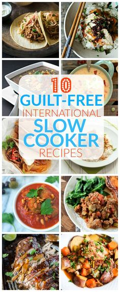 Top 10 thirty minute international recipes 30 minute recipe 10 guilt free international slow cooker recipes forumfinder Choice Image