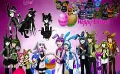 Easter Bonnies by Emil-Inze.deviantart.com on @DeviantArt
