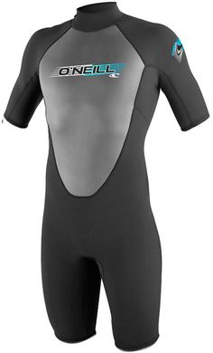 2mm Men's O'Neill Reactor Springsuit Shorty The O'Neill Reactor springsuit is a highly technical, warm water full wetsuit. Get a full dose of performance technology at an incredible price. The Reactor Series utilizes our exclusive FluidFlex in the...