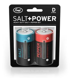 Salt + Pepper batteries