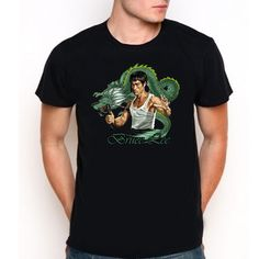 Bruce Lee Custom Tee T-Shirt