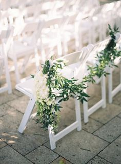 Beautiful ceremony: http://www.stylemepretty.com/little-black-book-blog/2015/05/19/elegant-fisher-island-wedding/ | Photography: Kat Braman - http://www.katbramanphotography.com/