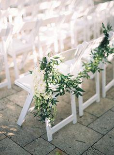 Beautiful ceremony: http://www.stylemepretty.com/little-black-book-blog/2015/05/19/elegant-fisher-island-wedding/ | Photography: Kat Braman - http://www.katbramanphotography.com/