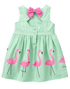 Hot New Fashion 2016 Beautiful Children Underdress Girls Dresses Crane Pattern…