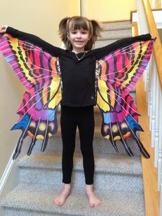 butterfly wings costume tutorial - Google Search