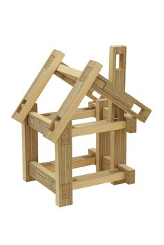 Spinifex Cluster wooden construction blocks | The Kid Who